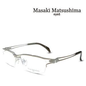 マサキマツシマ Masaki Matsushima MF-1244 C-1 シルバーマット ゴールドマット 度付きメガネ 伊達メガネ メンズ 日本製 眼鏡 メガネ フレーム 新作 (お取り寄せ)