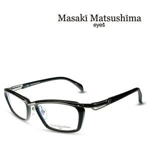 マサキマツシマ Masaki Matsushima MF-1245 C-2 ブラック グレー 度付きメガネ 伊達メガネ メンズ 日本製 眼鏡 メガネ フレーム