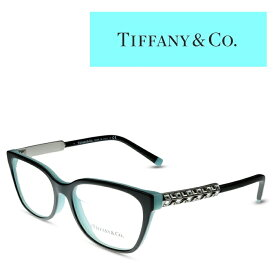 Tiffany ティファニー メガネ フレーム TF2199BF 8055 Black Tiffany Blue レディース 度付きメガネ 伊達メガネ TIFFANY&Co.