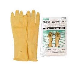 【在庫処分】オカモトビューティーグローブ(4点までメール便可)【シャンプー カラー 作業手袋 パウダーフリー】