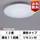アイリスオーヤマ CL12DL-5.0CF LEDシーリング 12畳 調光・調色タイプ