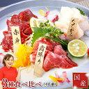馬刺し 熊本 国産 肉 送料無料 ギフト 3種食べ比べセット 約4人前 200g 赤身 霜降り 中トロ たてがみ 馬刺 馬肉 贈り…
