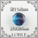 11.5×11.5×5mm 八角形型 チェコ ガラスビーズ ブルー×アメジスト(30粒) チェコ ガラス ビーズ ネックレス ブレス ピアス イヤリング チェコビーズ チェコガラス アクセサリー オリ