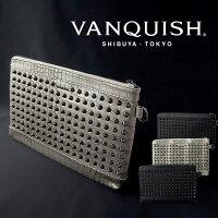 【送料無料】バッグメンズVANQUISHヴァンキッシュクラッチバッグスタッズタブレットVQM-41140