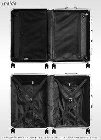 スーツケースの内装