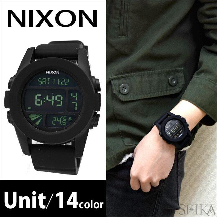 【期間限定 3年間保証】NIXON ニクソン メンズ腕時計 Unit (ユニット)全14色【A197】