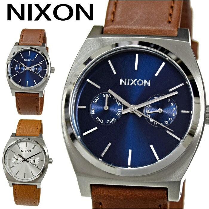 NIXON/ニクソン メンズ 時計【A9272307/ネイビー】【A9272310/シルバー】TIME TELLER DELUXE(タイムテラー デラックス)あす楽対応/新品、本物、当店在庫だから安心