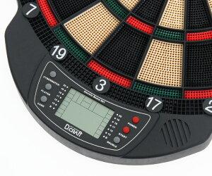 ダーツボード【ディークラフト】エレクトリックボード501グリーン/レッド