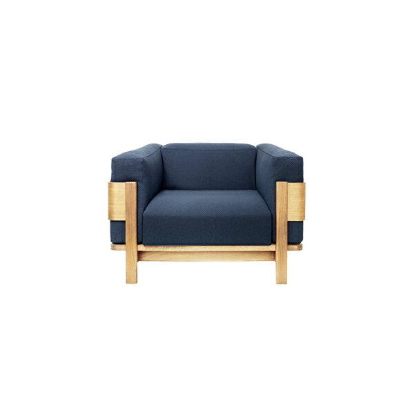 アルニカソファ 1P オーク(無垢材オイル仕上)フレーム:無垢材・突板 座面:ファブリック/本革サイズ:W107.9×D89.2×H70・SH41cm座面サイズ:W655×D63cm※木種、フレーム、張地ランクによって金額が異なります