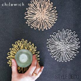 チルウィッチ コースター ブルームchilewich Bloom Coasterサイズ:約12.2×12.2cm【ゆうパケット可】