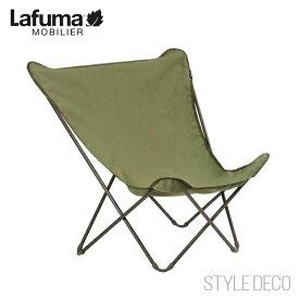 2021年 Lafuma MOBILIER ラフマ チェアLFM2777 8913 pop up XL Airlonポップアップ Vert kaki モスカーキ グリーン 緑 モスグリーン収納時φ12×H116cm使用時W78×D60×H99cm SH30cm重量2.65kg 最大耐荷重110kg