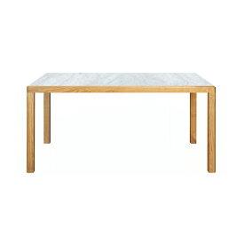 トリアンゴロ ダイニングテーブル天然大理石(ビアンコカララ:本磨き仕上げ/2分割)オーク(ウレタン仕上げ)TRIANGOLO Dining Table Marble/OAKサイズ:W1600〜2000×D900×H720mm