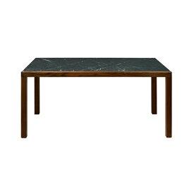 トリアンゴロ ダイニングテーブル天然大理石(シャローアッシュ:本磨き仕上げ/2分割)ウォールナット(ウレタン仕上げ)TRIANGOLO Dining Table Marble/WNサイズ:W1600〜2000×D900×H720mm