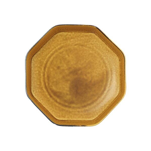 小野里奈×深山×小田陶器でつくるうつわ [つどい鉢]寂がらし釉 八角鉢(さびしがらゆう はっかくはち)サイズ:W180×D180×H50mm 製造元:深山