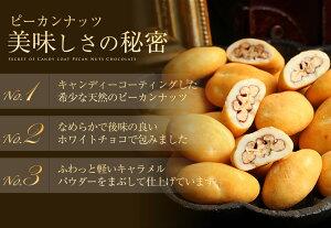 話題の高級ピーカンナッツ使用チョコレート!ピーカンナッツチョコレート★ラ・ラ・ラピーカン(18g×10袋)│ぴーかんなっつ│サロンドロワイヤル10P20Sep14