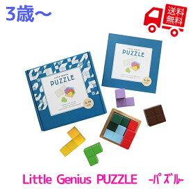 Little Genius PUZZLE -パズル-【 エド・インター 知育玩具 知育グッズ 3歳児 おもちゃ 積み木 つみき ブロック 立体 テトリス 出産祝い 男の子 女の子 プレゼント ギフト 誕生日 子供の日 お家にいよう 巣ごもり おうち時間 】
