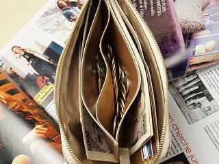 シンプル開運財布シャンパンゴールドレジさっと