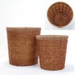 観葉植物 籐製 鉢カバー 8号鉢用(ライトブラウン) インテリア アジアン おしゃれ 観葉植物