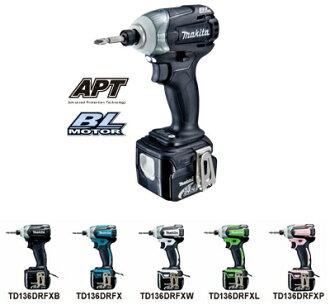 (牧) 槙田邦彥 TD 136 DRFX 14.4 V 充電無刷影響司機 APT (APT) 設置可用 5 種顏色 !DRFX 藍 /DRFXB 黑 /DRFXW 白 /DRFXL 石灰綠色 /DRFXP 爾德......