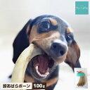 【48h限定5%クーポン】犬 おやつ 無添加 国産 豚あばらボーン 100g アレルギー 歯石除去 歯磨き ハミガキ 口臭 低カロリー グレインフリー 硬い 骨 スペアリブ ガム ドッグフード 小型犬
