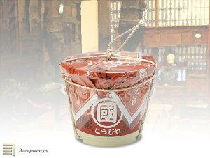 【飛騨高山】こうじ味噌(つぶ)樽入 2kg (柴田) * お取寄 *