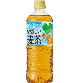 サントリー GREEN DA・KA・RA グリーンダカラ やさしい麦茶 ペット650ml1箱24本