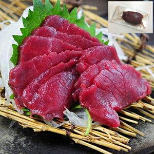 冷凍 馬肉 生食用 赤身 100g