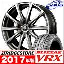 【2017年製】新品 ブリヂストン ブリザック VRX - 195/65R15 マナレイ ユーロスピード V25 / 15×6.0J 5H 新品スタッ…