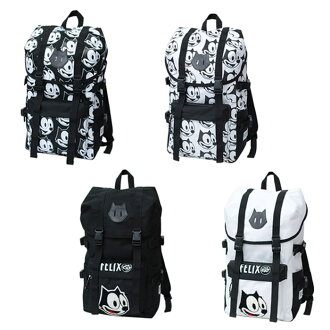 FELIX nylon mountain rucksack backpack Felix cat cat CAT anime sentence embroidery pattern ladies men's unisex travel school trips gift gift gift preschool power school