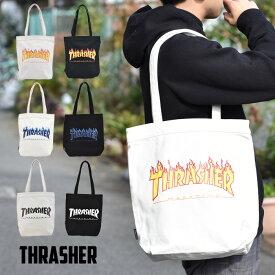 THRASHER スラッシャー トートバッグ バッグ レディース メンズ オールシーズン コットンキャンパス カジュアル THC-800 【あす楽対応】