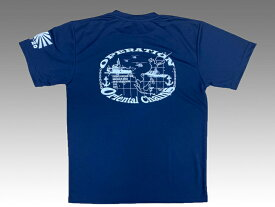 海上自衛隊 Tシャツ 【 記念Tシャツ ( IPD2020 ) 】 インド太平洋方面派遣訓練 メンズ レディース 男女兼用 ユニセックス トップス 半袖 ウェア グッズ 吸水速乾 カットソー 無地 カジュアル ネコポス可