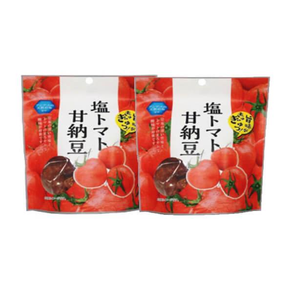 【メール便】新・塩トマト甘納豆 170g 2個セットアンデスの天然岩塩を使用 甘納豆 おやつ お茶うけ【送料無料】