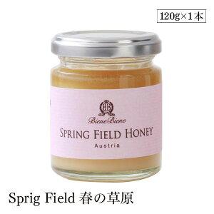 BieneBiene オーガニック生はちみつ Sprig Field 春の草原 120g Bio認定