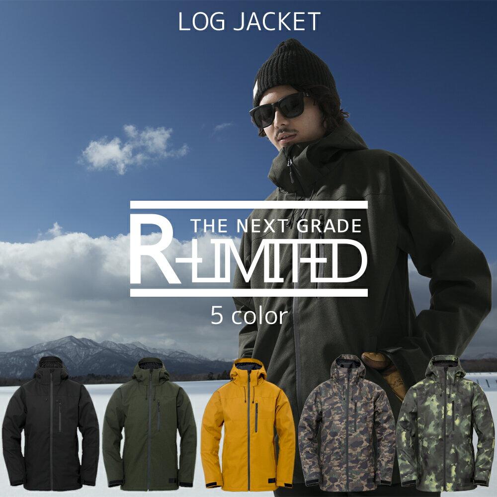 【1718新作モデル】 17-18R-ltd(アールリミテッド) ユニセックス ジャケット単品 JK スノーボードウェア スキーウェアスノーボードウェア ジャケット 単品 スノボウェア スキーウェア