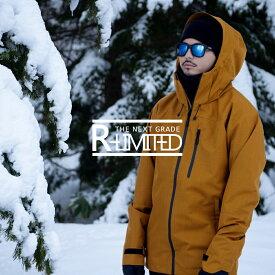 スノーボードウェア【18-19モデル】 18-19R-ltd(アールリミテッド) ユニセックス 上下セット スキーウェアスノーボードウェア 上下セット スノボウェア スキーウェア