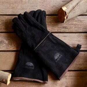 ファイヤーサイドストーブグローブ ブラック/薪ストーブ/グローブ/手袋/薪ストーブアクセサリー/手袋/軍手/ハンドカバー/安全手袋