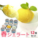 しまなみドルチェ春ジェラート12個セット【送料無料】アイスクリーム/ジェラート お取り寄せ