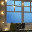 【レビューでクーポンプレゼント】スワン電器 Another garden LED Stringlight 10bulb AOL-617 WH CL LEDストリングラ…