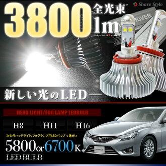 选择从马克 X 雾 LED 灯亮度 MAX26W 雾灯 H8 H11 H16 形状雾 5800 K 6700 K 超高强度 LED 雾雾灯马克-X 雾
