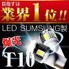 三星 LED 通過鋁散熱器設計高強度 T10 楔形球位置-許可證-迎來房間燈 LED 閥 2 件