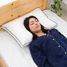 枕 Goosely グースリー 洗える まくら 羽毛のような ふんわり いびき防止 快眠 横向き 低反発 洗濯できる まくら ストレートネック 調整 やわらかめ 低め 調整シート 通気性 テンピュール 帝人 43 × 63 cm 正規品