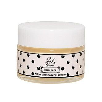 24 h 24 h 化妆品 24h cosme) 所有在一天然奶油 45 克 6 帮助皮肤是所有在一高水分霜之一
