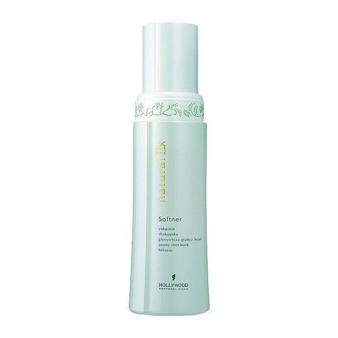 ハリウッド化粧品 ナチュラルEX ソフナーh 180ml 洗顔料キメ細かい泡で汚れを洗い流す、フォームタイプ洗顔料