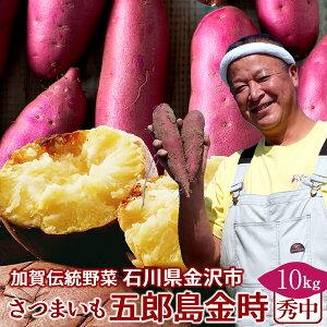 さつまいも 五郎島金時 10kg[秀・中]石川県産 金沢市 加賀野菜 ブランド さつま芋 高級 生いも 加賀百万石 伝統 秋野菜【送料無料】
