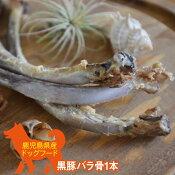 鹿児島県産黒豚バラ骨1本小型犬〜大型犬まで国産ペットフードドッグフード