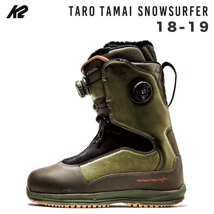 K2 ケイツー 18-19 TARO TAMAI SNOWSURFER スノーサーファー TT 玉井太郎 GENTEMSTICK GENTEM スノーボード ブーツ SNOWBOARD BOOTS K2TT 【早期予約 正規品】