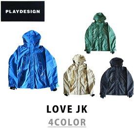 PLAYDESIGN プレイデザイン 17-18 LOVE JK ラブ ジャケット スノーボード ウェア ユニセックス