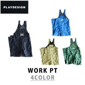 PLAYDESIGN プレイデザイン 17-18 WORK PT ワーク パンツ スノーボード ウェア ユニセックス