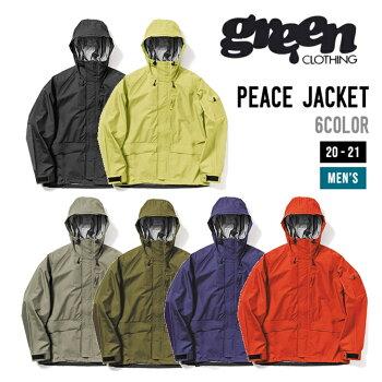 GREENCLOTHINGグリーンクロージング20-21PEACEJACKETピースジャケットウエア