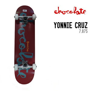 CHOCOLATE チョコレート PRICE POINT COMPLETE YONNIE CRUZ 7.875 コンプリート スケートボード SKATE BOARD 完成品